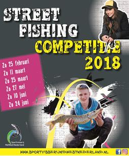 Inschrijving competitie streetfishing geopend